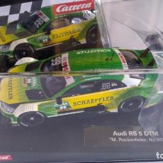 Slot Cars: CARRERA EVOLUTION AUDI RS 5 DTM, NUEVO EN URNA.VÁLIDO SCALEXTRIC,FLY,NINCO,ETC. Lote 207226391
