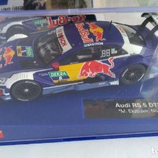 Slot Cars: CARRERA DIGITAL AUDI RS 5 DTM, RED BULL VÁLIDO ANALÓGICO NUEVO .VÁLIDO SCALEXTRIC,FLY,NINCO,ETC. Lote 207228016