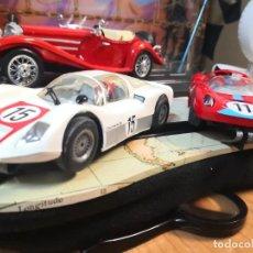 Slot Cars: 2 COCHES MARCA CARRERA PORSCHE 906 Y FERRARI DINO 206. Lote 207238022