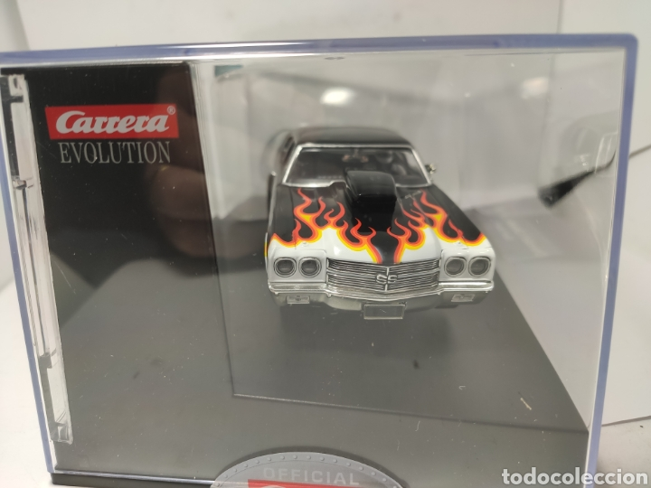 Slot Cars: CARRERA EVOLUTION CHEVROLET CHEVELLE SS 454 SUPER STOCKER II REF. 20027580 - Foto 2 - 207563520