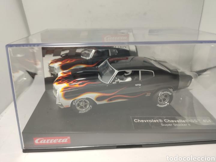 CARRERA EVOLUTION CHEVROLET CHEVELLE SS 454 SUPER STOCKER II REF. 20027580 (Juguetes - Slot Cars - Magic Cars y Otros)