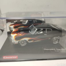 Slot Cars: CARRERA EVOLUTION CHEVROLET CHEVELLE SS 454 SUPER STOCKER II REF. 20027580. Lote 207563520