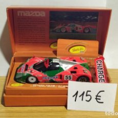 Slot Cars: MAZDA 787B N.55 WINNER 24H LE MANS 1991 LIMITED EDITION. Lote 207604021