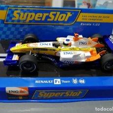 Slot Cars: OFERTA - RENAULT F1 2008 Nº5 DE F. ALONSO DE SUPERSLOT. Lote 233484540