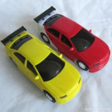 Slot Cars: 2 COCHES TIPO SCALEXTRIC. Lote 209028635