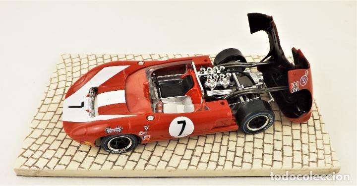 Slot Cars: sloter Limited Edition 1.500 uds. Lola T70 Spyder Surtees 1966 - Foto 4 - 209288665