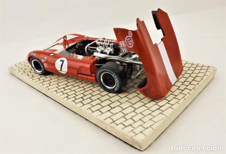 Slot Cars: sloter Limited Edition 1.500 uds. Lola T70 Spyder Surtees 1966 - Foto 5 - 209288665