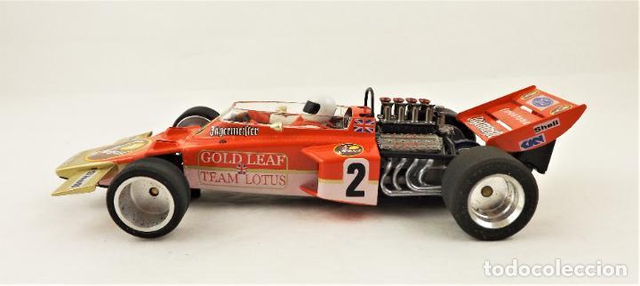 Slot Cars: MG Vanquish Lotus 72 Gold Leaf 1972 - Foto 3 - 209289232