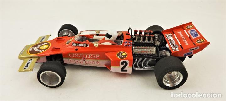 Slot Cars: MG Vanquish Lotus 72 Gold Leaf 1972 - Foto 4 - 209289232