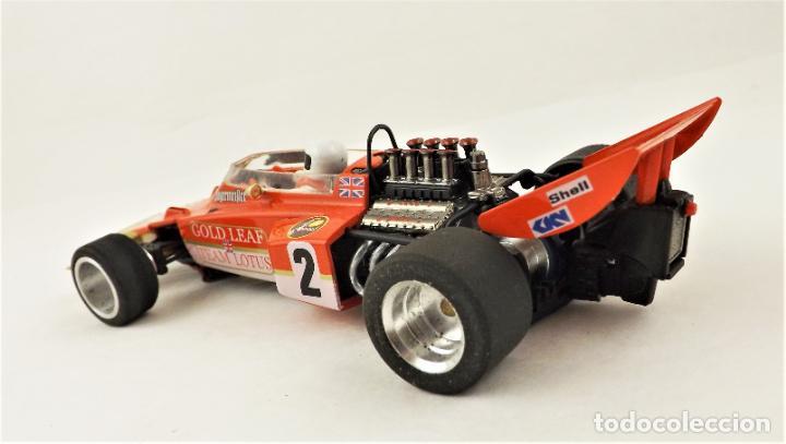Slot Cars: MG Vanquish Lotus 72 Gold Leaf 1972 - Foto 5 - 209289232