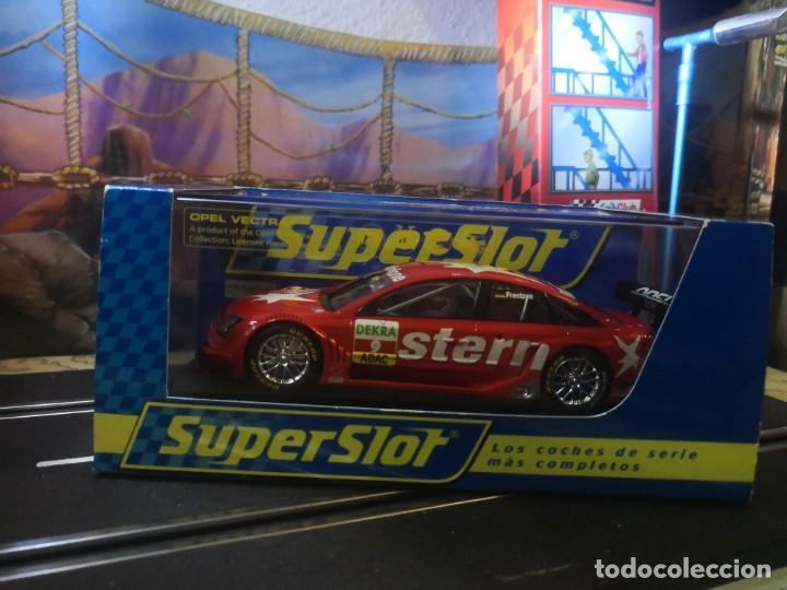 Slot Cars: Superslot Opel Vectra GTS V8 Heinz Harold Frentzen - Foto 2 - 209385342