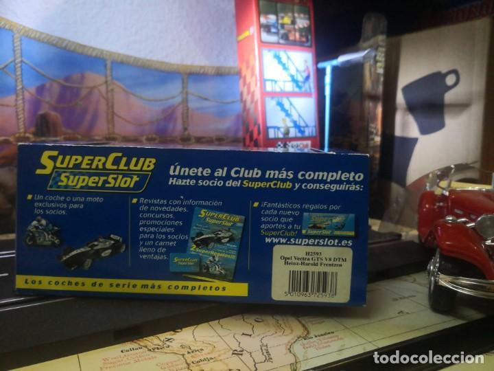Slot Cars: Superslot Opel Vectra GTS V8 Heinz Harold Frentzen - Foto 4 - 209385342