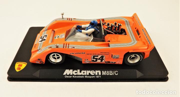 Slot Cars: Slot MG Vanquish McLaren M8B/C O. Kovaleski - Foto 2 - 209675030