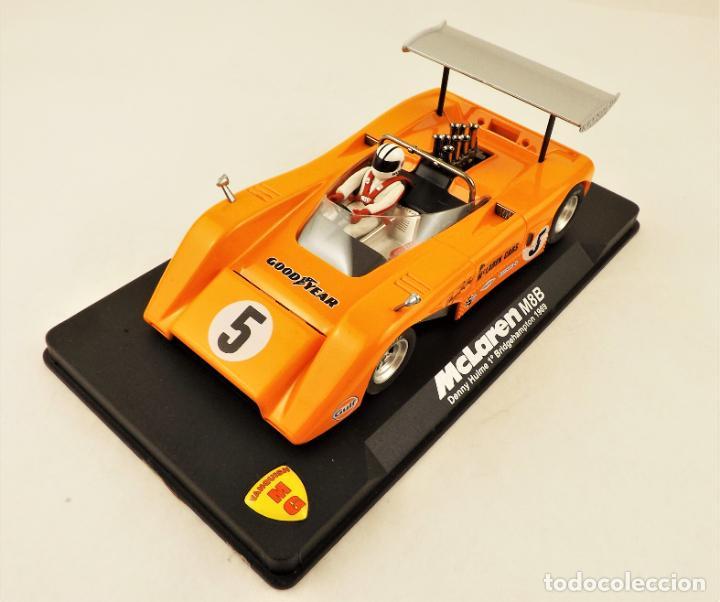 Slot Cars: Slot MG Vanquish McLaren M8B Denny Hulme 1969. - Foto 2 - 209675648