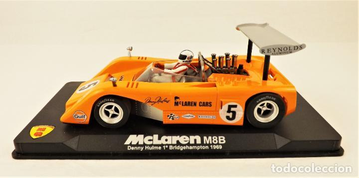Slot Cars: Slot MG Vanquish McLaren M8B Denny Hulme 1969. - Foto 3 - 209675648