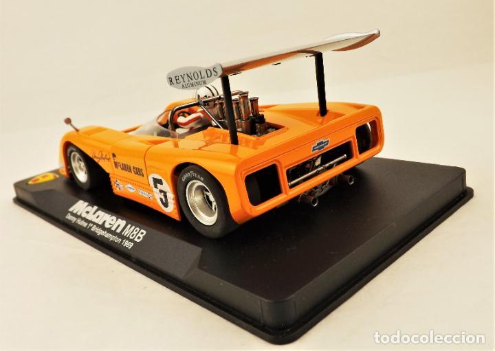 Slot Cars: Slot MG Vanquish McLaren M8B Denny Hulme 1969. - Foto 4 - 209675648