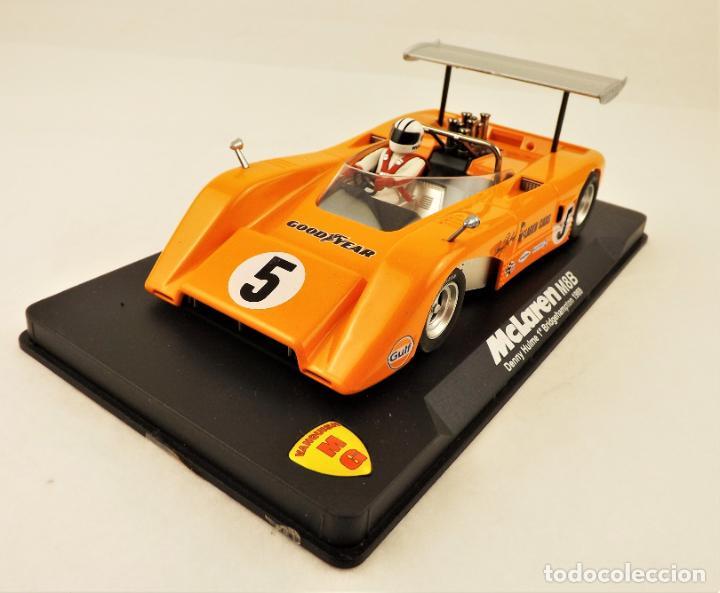 SLOT MG VANQUISH MCLAREN M8B DENNY HULME 1969. (Juguetes - Slot Cars - Magic Cars y Otros)