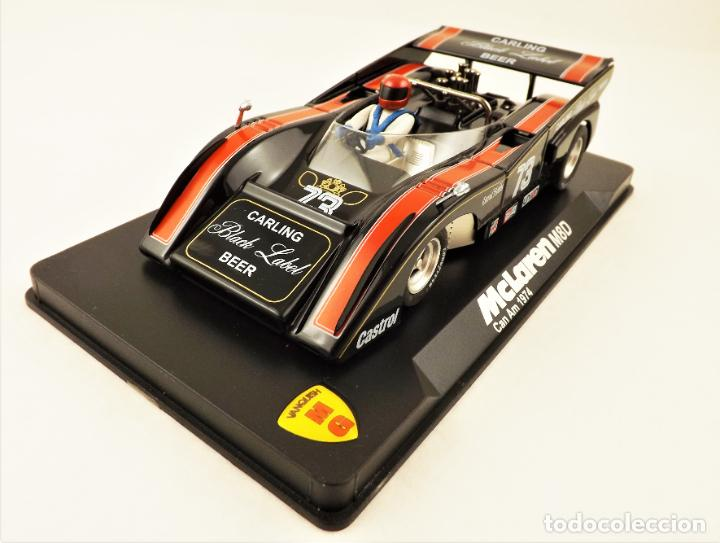 SLOT MG VANQUISH MCLAREN M8D CAN AM 1974 D. HOBBS (Juguetes - Slot Cars - Magic Cars y Otros)