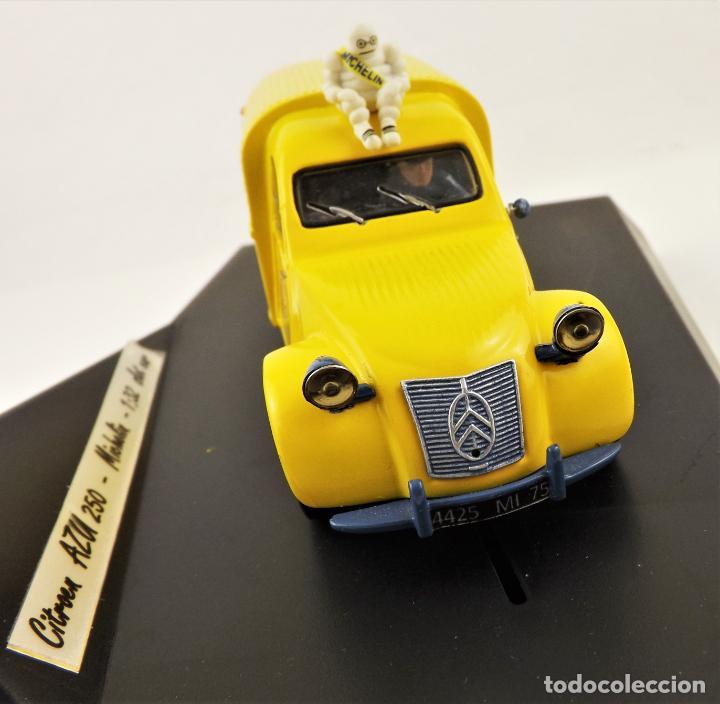 Slot Cars: Slot Resina artesanal Citroen AZU 250 Michelín (Solo 3 unidades fabricadas con esta decoración) - Foto 3 - 209706085