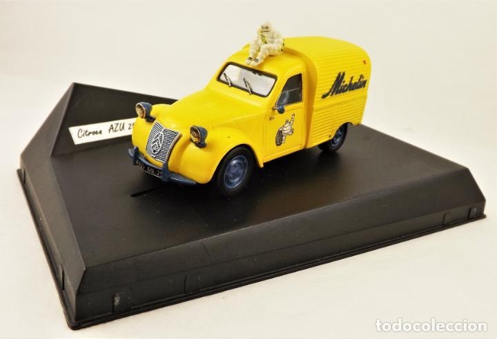 Slot Cars: Slot Resina artesanal Citroen AZU 250 Michelín (Solo 3 unidades fabricadas con esta decoración) - Foto 2 - 209706085