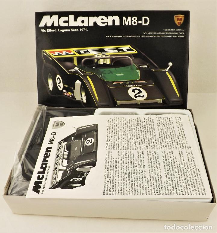 Slot Cars: Slot MG Vanquish Kit montaje de McLaren M8-D Viv Elford - Foto 4 - 209814690