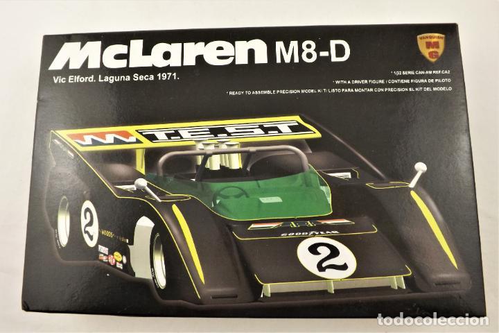 SLOT MG VANQUISH KIT MONTAJE DE MCLAREN M8-D VIV ELFORD (Juguetes - Slot Cars - Magic Cars y Otros)