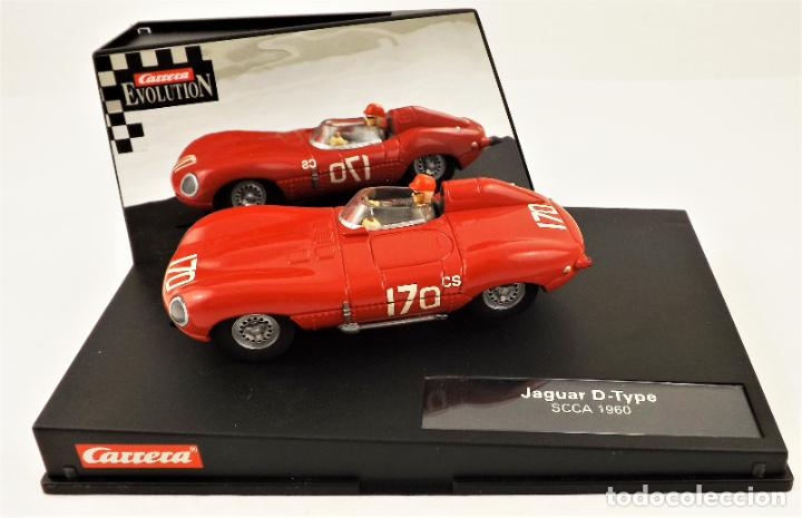 Slot Cars: Carrera Evolution Jaguar D-Type SCCA 1960 - Foto 3 - 209819158