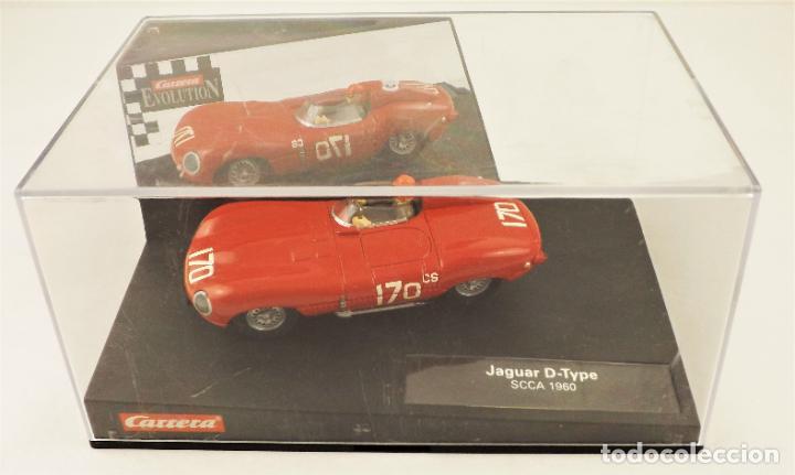 Slot Cars: Carrera Evolution Jaguar D-Type SCCA 1960 - Foto 5 - 209819158