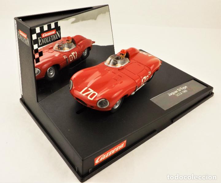 CARRERA EVOLUTION JAGUAR D-TYPE SCCA 1960 (Juguetes - Slot Cars - Magic Cars y Otros)