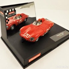 Slot Cars: CARRERA EVOLUTION JAGUAR D-TYPE SCCA 1960. Lote 209819158