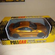 Slot Cars: POLICAR. HOME RACERS. SUBARU BRZ-ORANGE. REF. CT01T. Lote 209961807