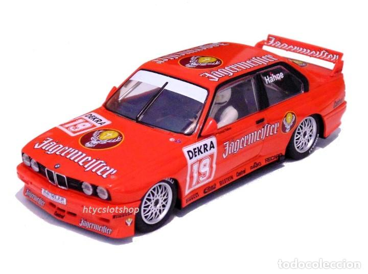 Slot Cars: SUPERSLOT BMW M3 E30 DTM JAGERMEISTER TWIN PACK TEAM LINDER SCALEXTRIC H4110A - Foto 3 - 209710112