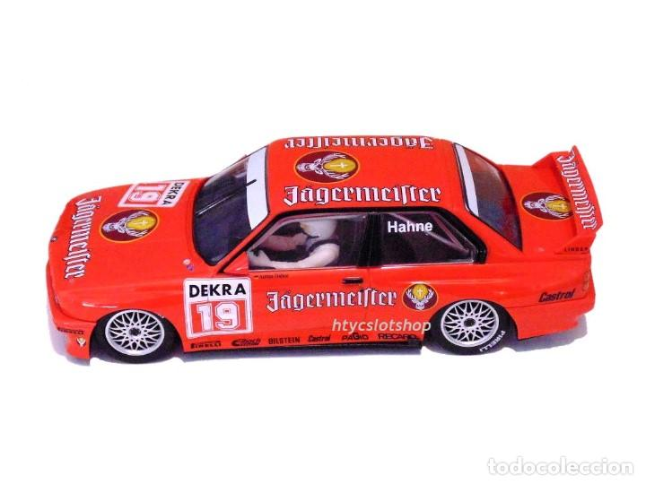 Slot Cars: SUPERSLOT BMW M3 E30 DTM JAGERMEISTER TWIN PACK TEAM LINDER SCALEXTRIC H4110A - Foto 4 - 209710112