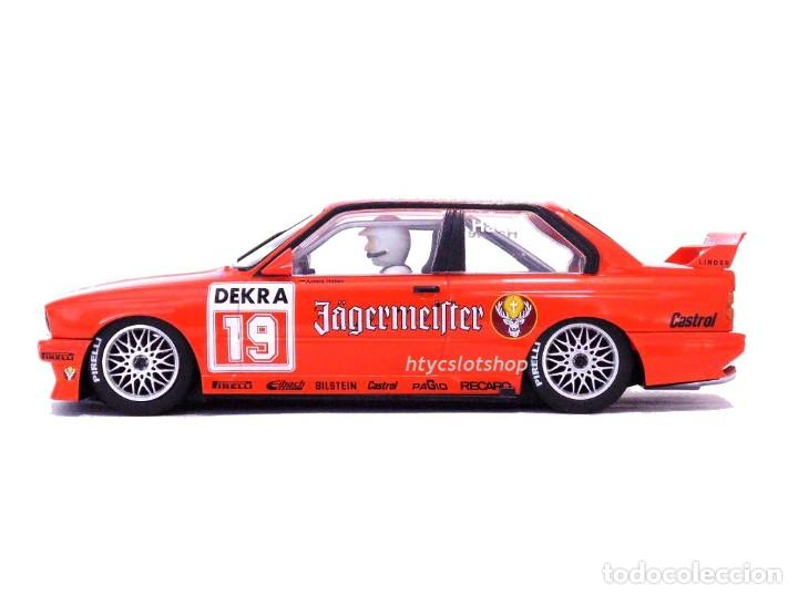 Slot Cars: SUPERSLOT BMW M3 E30 DTM JAGERMEISTER TWIN PACK TEAM LINDER SCALEXTRIC H4110A - Foto 5 - 209710112