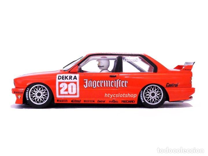 Slot Cars: SUPERSLOT BMW M3 E30 DTM JAGERMEISTER TWIN PACK TEAM LINDER SCALEXTRIC H4110A - Foto 10 - 209710112