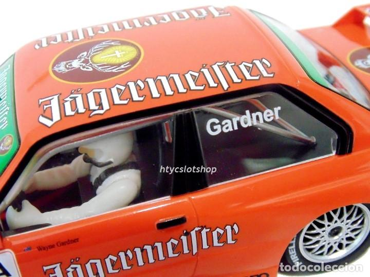 Slot Cars: SUPERSLOT BMW M3 E30 DTM JAGERMEISTER TWIN PACK TEAM LINDER SCALEXTRIC H4110A - Foto 11 - 209710112