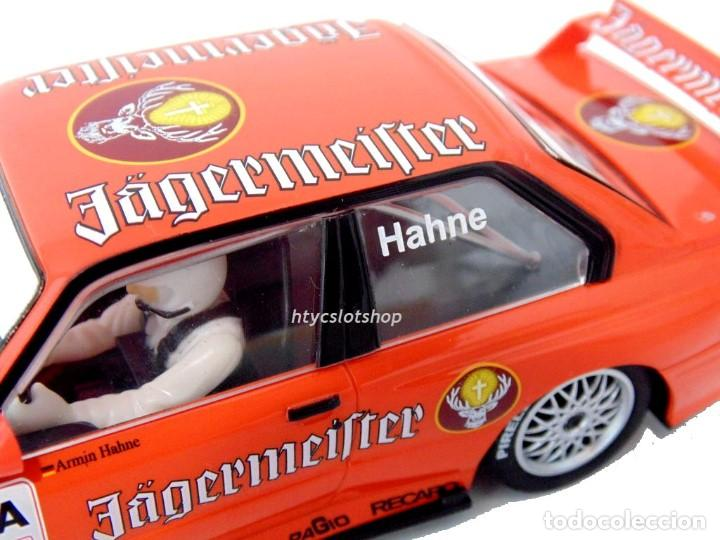 Slot Cars: SUPERSLOT BMW M3 E30 DTM JAGERMEISTER TWIN PACK TEAM LINDER SCALEXTRIC H4110A - Foto 6 - 209710112