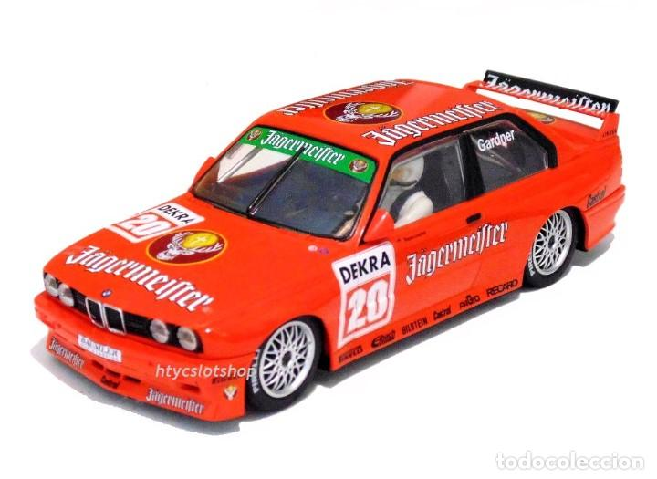 Slot Cars: SUPERSLOT BMW M3 E30 DTM JAGERMEISTER TWIN PACK TEAM LINDER SCALEXTRIC H4110A - Foto 8 - 209710112