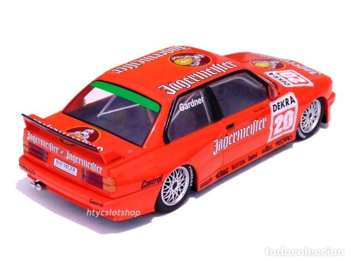 Slot Cars: SUPERSLOT BMW M3 E30 DTM JAGERMEISTER TWIN PACK TEAM LINDER SCALEXTRIC H4110A - Foto 12 - 209710112