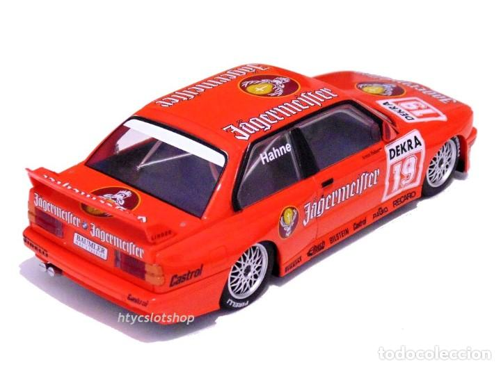 Slot Cars: SUPERSLOT BMW M3 E30 DTM JAGERMEISTER TWIN PACK TEAM LINDER SCALEXTRIC H4110A - Foto 7 - 209710112