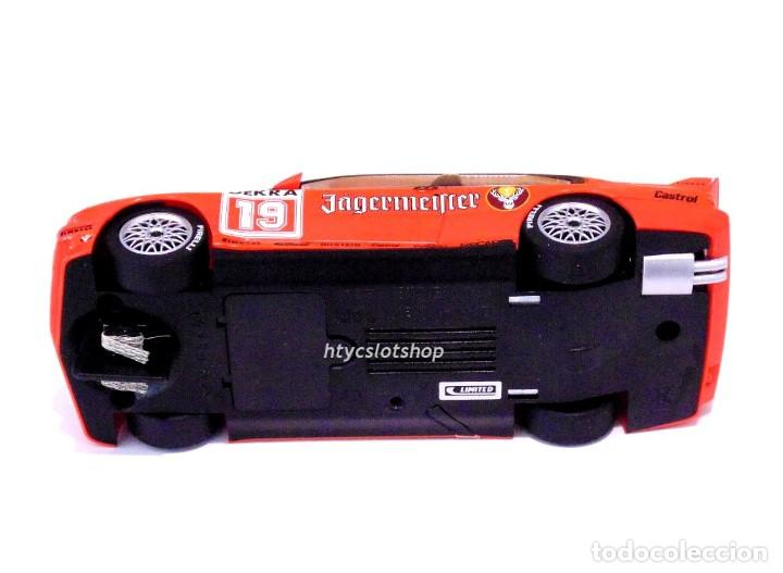 Slot Cars: SUPERSLOT BMW M3 E30 DTM JAGERMEISTER TWIN PACK TEAM LINDER SCALEXTRIC H4110A - Foto 13 - 209710112