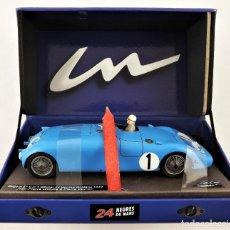 Slot Cars: SLOT LE MANS MINIATURES BUGATTI 57 C LE MANS 1939. Lote 226878345