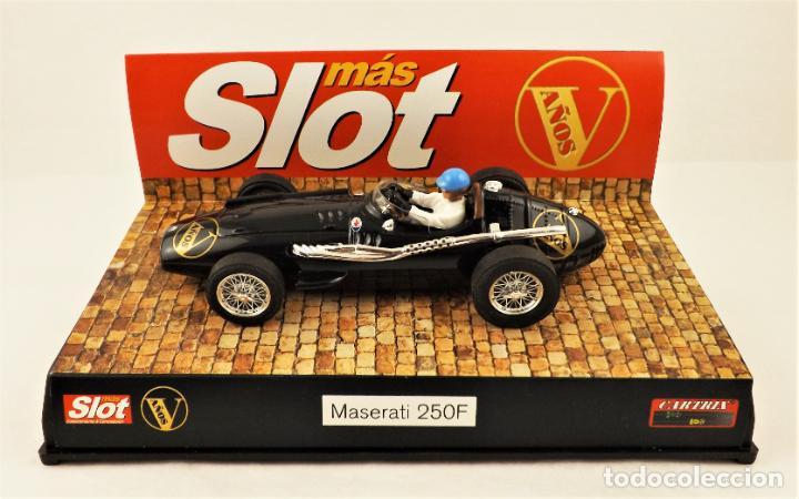 Slot Cars: Slot Cartrix Edición Mas Slot V años Maserati 250 F (200 uds) - Foto 2 - 210297697