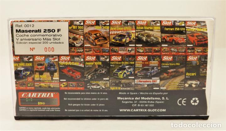 Slot Cars: Slot Cartrix Edición Mas Slot V años Maserati 250 F (200 uds) - Foto 5 - 210297697