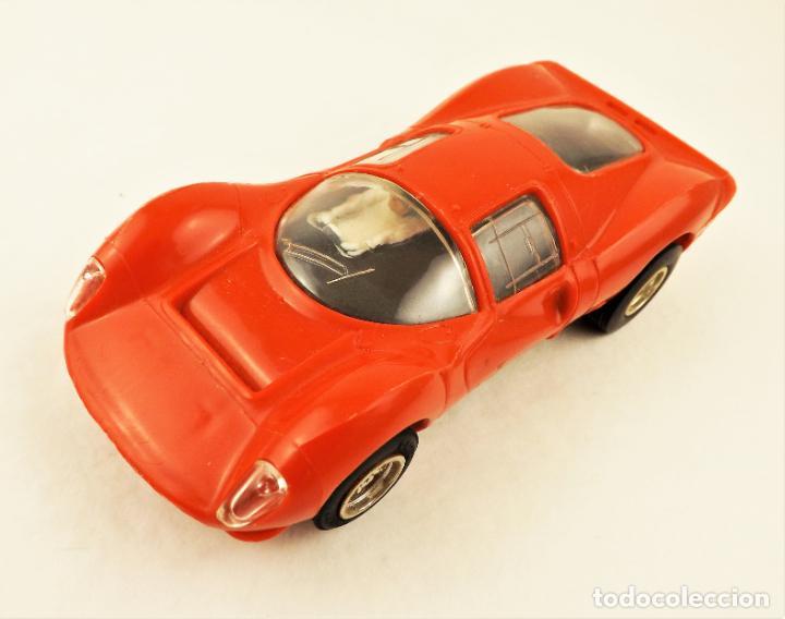 Slot Cars: Scalextric Triang Ferrari P4 - Foto 2 - 210345460