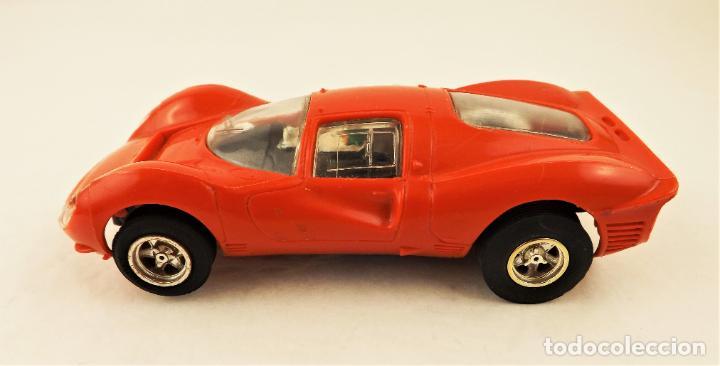 Slot Cars: Scalextric Triang Ferrari P4 - Foto 3 - 210345460