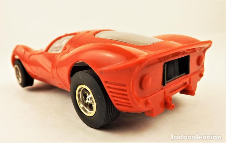 Slot Cars: Scalextric Triang Ferrari P4 - Foto 4 - 210345460