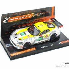 Slot Cars: SRT VIPER GTS-R DE SCALEAUTO. Lote 210372167