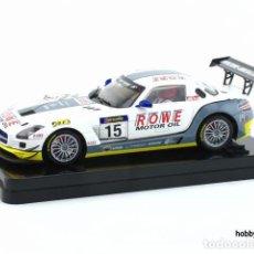 Slot Cars: MERCEDES BENZ SLS AMG GT3 DE SCALEAUTO. Lote 210373416