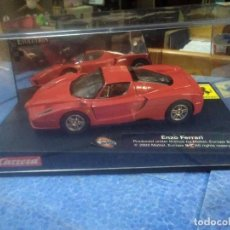 Slot Cars: 2003 MATTEL CASA CARRERA EVOLUTION ENZO FERRARI RED REF. 25702. Lote 210545381